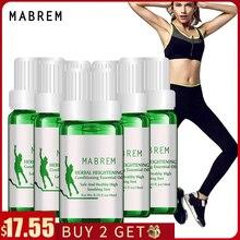5Pcs Mabrem Kruiden Etherische Olie Conditioning Body Grow Taller Verhoog Hoogte Rustgevende Voet Bevorderen Bone Groei Massage Olie