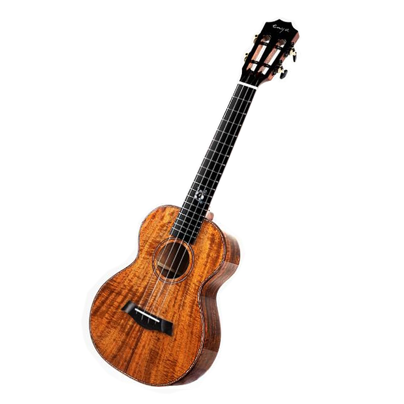 Enya K5 ukelele 5A rayas de tigre KOA ukelele 26 23 guitarra de Hawaii 4 cuerdas mini instrumentos musicales de guitarra los profesionales