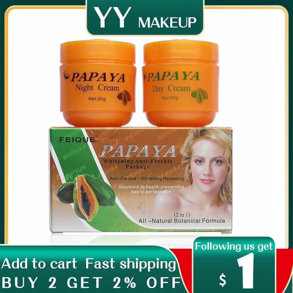 PAPAYA Whitening anti freckle natural botanical formula skin care