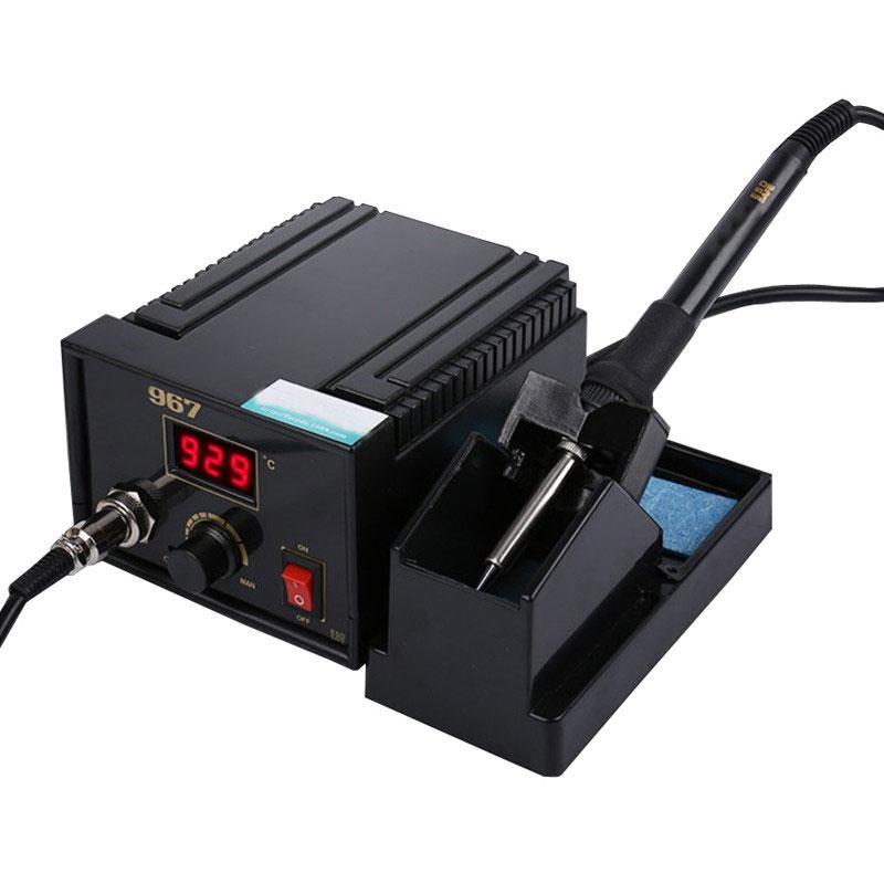 Электрический паяльный Главный блок 967 AC100 265V B наконечник инвертор электрическая паяльная станция изменение частоты выходная мощность 75 В
