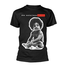 The Notorious B.I.G. Ready to Die Rap Official Tee T-Shirt Mens Unisex(China)