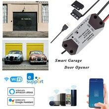 Ouvre-porte de Garage intelligent, commutateur WiFi, contrôleur fonctionne avec Alexa Echo Google Home eWelink APP, aucun Hub requis