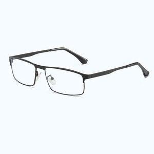 Image 3 - Оправа для оптических очков, оправа для очков из металлического сплава с полной оправой по рецепту, 5013