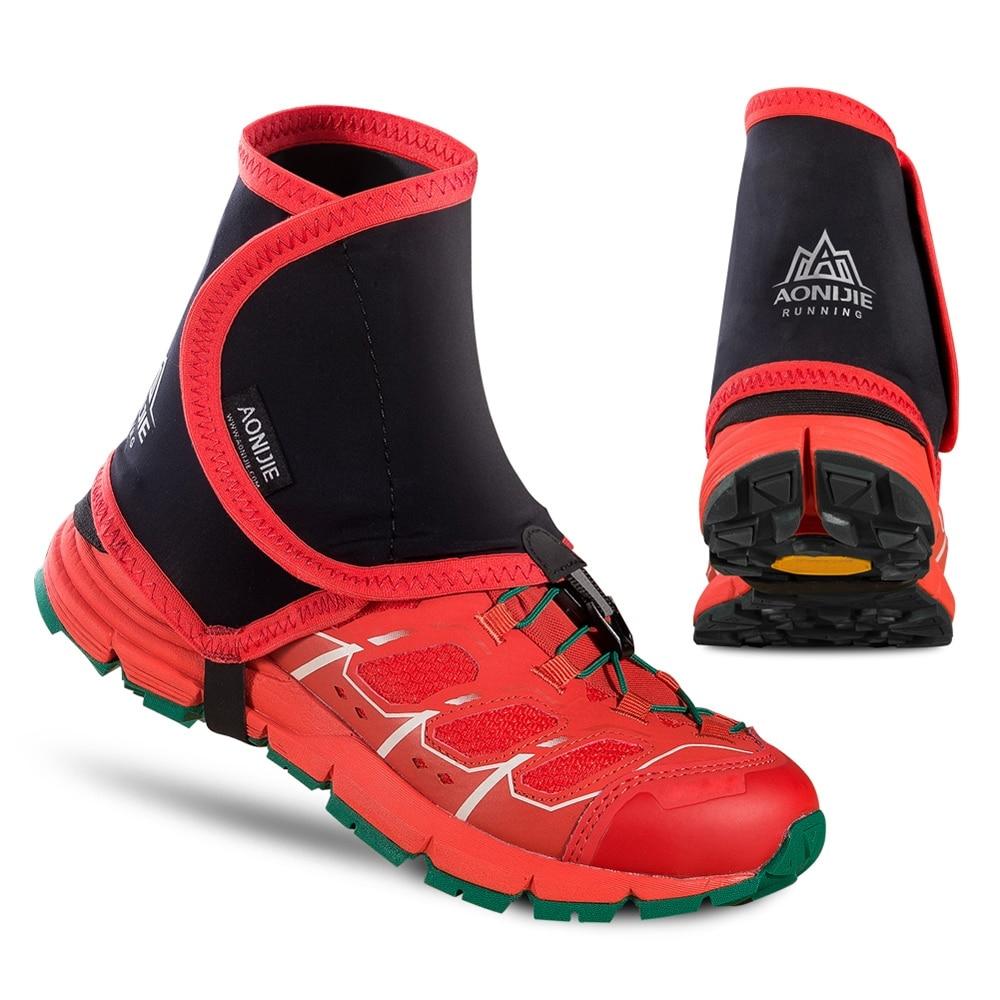 New 1 Pair Running Walking Marathon Ski Gaiters Outdoor Hiking Walking Climbing Hunting Snow Legging Gaiters Shoes Cover