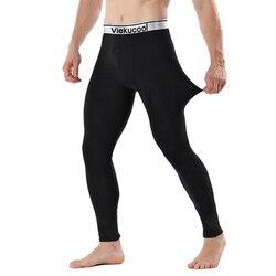 Novo underwear masculino longo johns hombre inverno quente engrossar thermo underwear calças dos homens leggings calças térmicas para homens