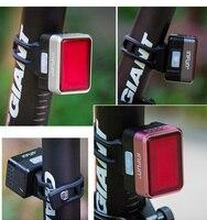 Infun f50 luz traseira da bicicleta com bicicleta indução do freio automático luz traseira mtb ciclismo carga led segurança correndo lâmpada