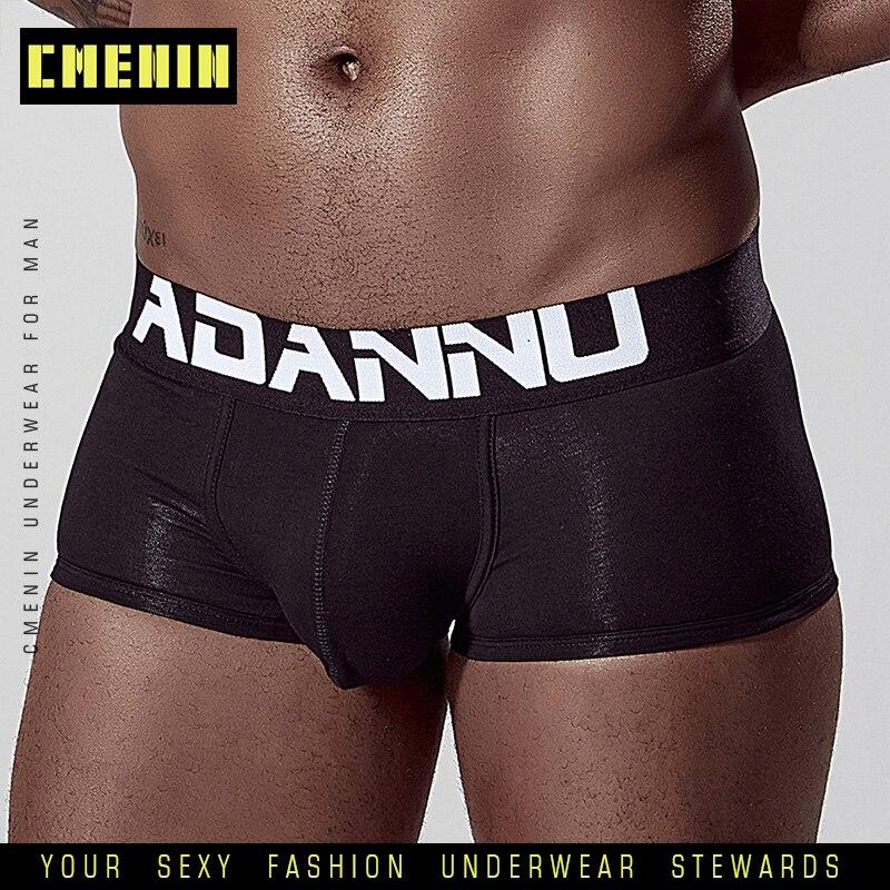 Men Boxers Male Underwear Boxer Mens Cotton Underpants Man Panties Shorts Quick Dry Cueca Shorts Breathable Boxershort AD125
