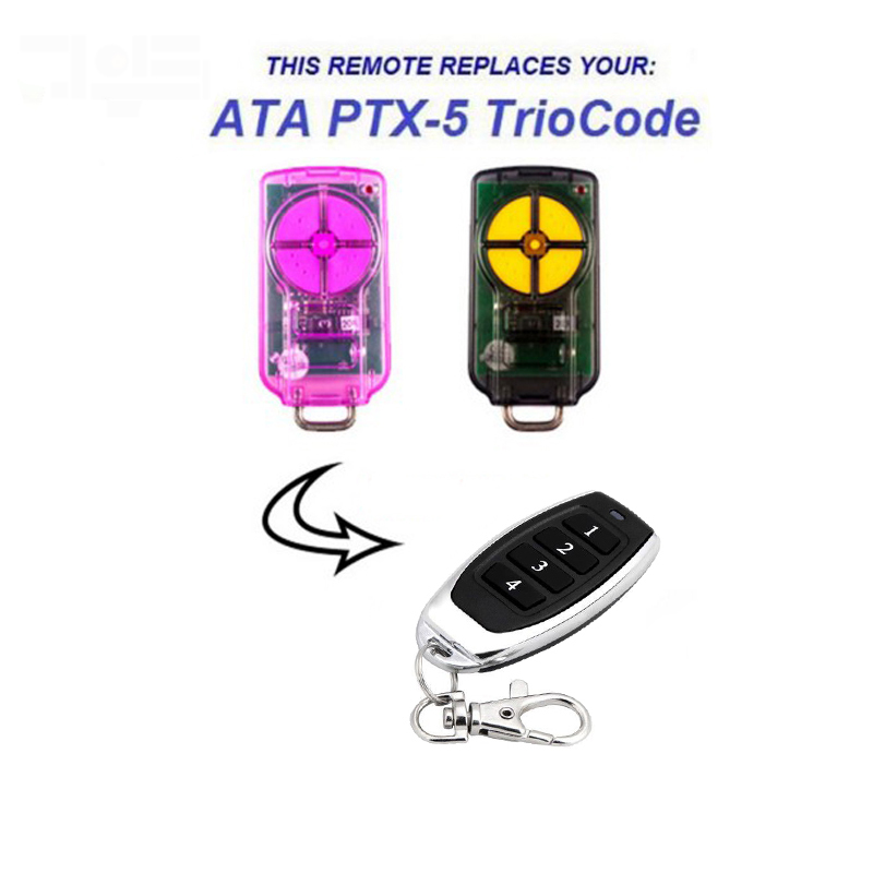 1pcs For ATA PTX-5 Triocode GDO High Quality Garage Door Remote  Free Shipping