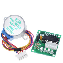 купить 28BYJ-48-5V 12v 4 phase Stepper Motor+ Driver Board ULN2003 Stepper motor + ULN2003 Driver board diy kit в интернет-магазине