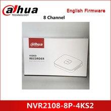 Dahua-enregistreur vidéo en réseau intelligent, 8 canaux, NVR NVR2108-8P-4KS2, 8u, 4K, h265