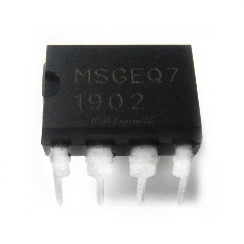 5PCS MSGEQ7 Band Graphic Equalizer IC MIXED DIP-8 MSGEQ7