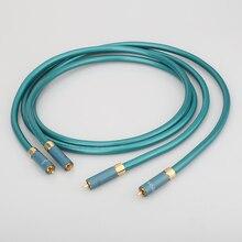 Hifi A55 Ortofon RCA kablosu Hi end CD amplifikatör bağlantı 2RCA to 2RCA erkek ses kablosu