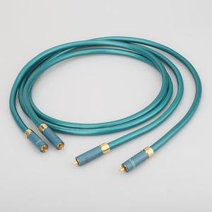 Image 1 - Hifi A55 Ortofon câble RCA amplificateur CD haut de gamme interconnecter 2RCA à 2RCA câble Audio mâle