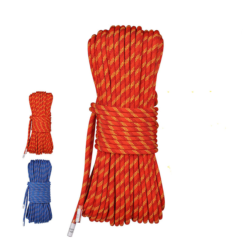 New High Quality Size Outdoor Nylon Climbing Rope Fixing Rope 10.5mm For Climbing Equipment Fire Protection