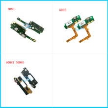 Original USB Charger Dock Connector Charging Port Microphone Flex Cable For Alcatel 5080 5095 9008X 50980(China)