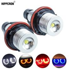 Светодиодный Ангельские глазки габаритные огни лампы для BMW E39 E53 E60 E61 E63 E64 E65 E66 E87 525i 530i xi 545i M5 Ошибок 2*5 Вт(из 2 предметов