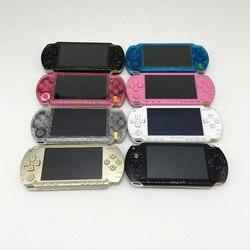 PSP mit neue gehäuse Professionell Renoviert Für Sony PSP-1000 PSP 1000 Handheld System Spielkonsole Mit 32GB speicher karte