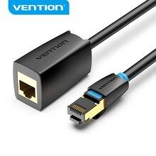 Vention Cat8 câble dextension Ethernet SFTP 40Gbps RJ45 adaptateur de cordon de raccordement dextension pour routeur Modem PC Cat 8 câble Ethernet