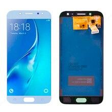5.2 cal wyświetlacz zastępczy do SAMSUNG Galaxy J5 2017 J530 J530F LCD montaż digitizera ekranu dotykowego z regulacja światła