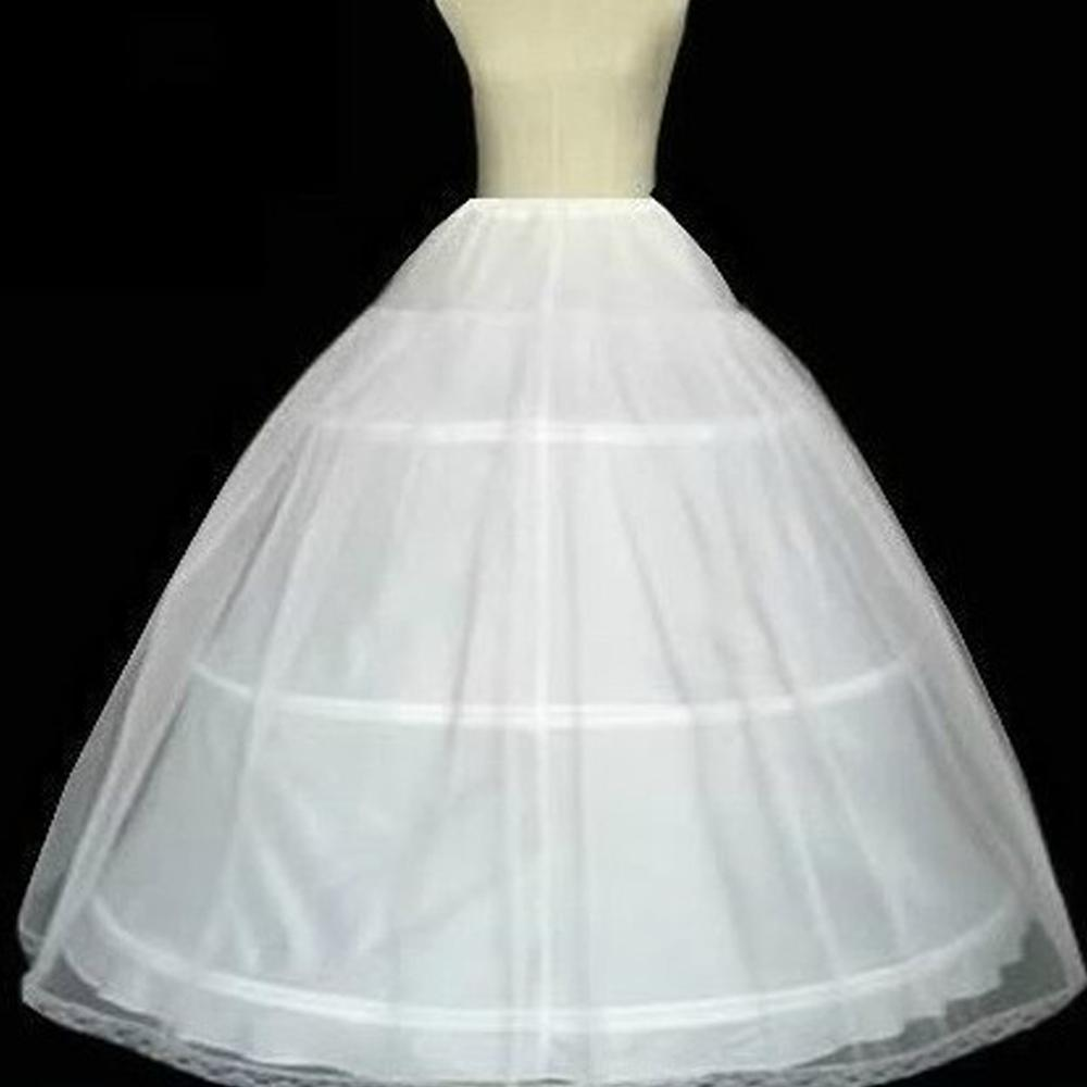 Wedding Skirt Accessories Petticoat Ball Gown Underskirt Lace  Petticoats In Stock