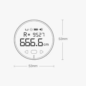 Image 5 - Youpin DUKA wielofunkcyjna linijka elektryczna 99M pomiar długości pomiar objętości miernik odległości od Youpin