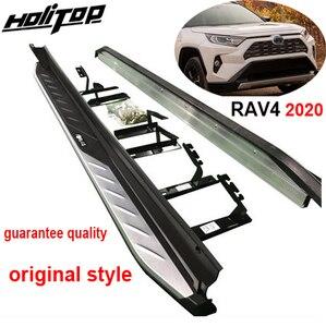 Image 1 - OE トヨタ RAV4 ため実行しているサイドステップサイドバー 2019 2020 2021 、オリジナルデザイン、保証品質、 guanrantee フィットインストール