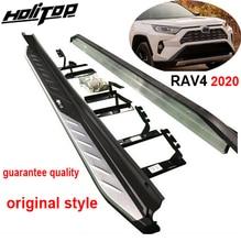 ด้านข้าง OE ด้านข้างบาร์สำหรับบอร์ด Toyota RAV4 2019 2020 2021,การออกแบบเดิมรับประกันคุณภาพ guanrantee Fit ติดตั้ง