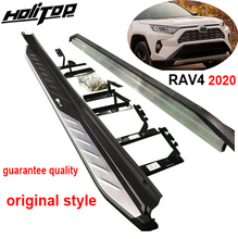 OE side step side bar running board for Toyota RAV4 2019 2020 2021,original design,guarantee quality,guanrantee fit installation