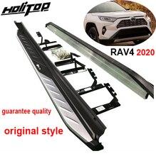 Toyota RAV4 2019 2020 2021, 독창적 인 디자인, 보증 품질, guanrantee fit 설치를위한 OE 사이드 스텝 사이드 바 실행 보드