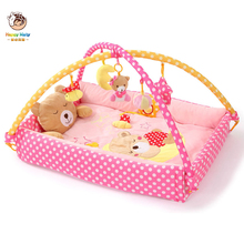 Baby Playmat Game Blanket Princess Prince Infant Activity Play Mat Crawling Game Pad Mobile Cot Toys Bundle Bracket Bedding