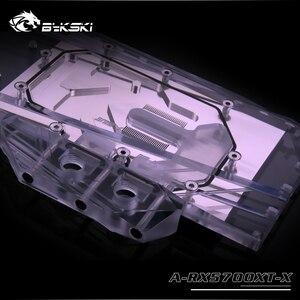 Image 2 - Bykski Water Block use for RX 5700 / 5700XT AMD GPU Card / Full Cover Copper Radiator Block /3PIN 5V A RGB / 4PIN 12V RGB