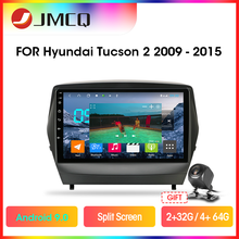 JMCQ T9 4G+64G DSP RDS Android 9.0 Car Radio For Hyundai Tucson 2 LM IX35 2011-2014 2 din GPS Navigaion Multimedia Video Player