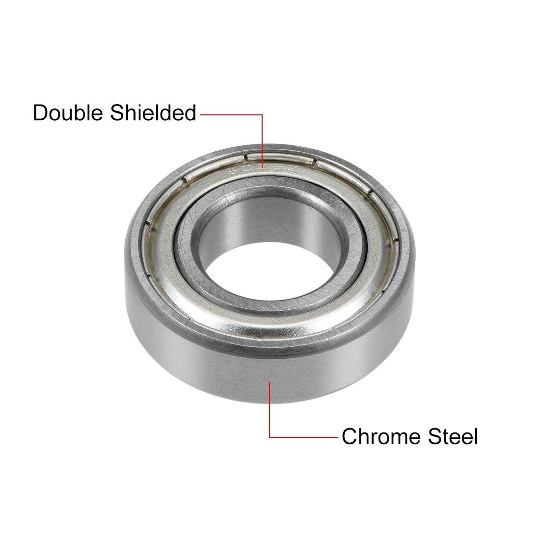 6003-ZZ Shielded Radial Ball Bearing 17X35X10 10 pack