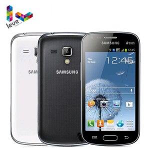 Оригинальный GT-S7562 Dual SIM Samsung Galaxy S Duos разблокированный 3G мобильный телефон, 4 Гб Rom, Wi-Fi, 4,0