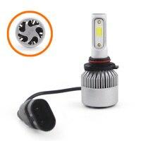 bulb 12v SHUOKE 2 PCS S2 Car Super LED Headlight COB Chip 12V 30W 45W 2.8A 3800LM 6000K HB3 9005 HB4 9006 H1 H4 H7 H11 LED Car Light Bulb (3)