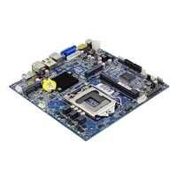 Desktop Scheda Madre ITX Intel H81 LGA 1150 Socket USB2.0 SATA2.0 PCI-E DDR3 Memoria i3 i5 i7 Processore Vecchio Mainboard