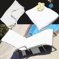 Toalha de praia engrossar toalha de natação sunshine lounger companheiro transportar bolsos sacos férias jardim lounge quatro bolsos de ambos os lados