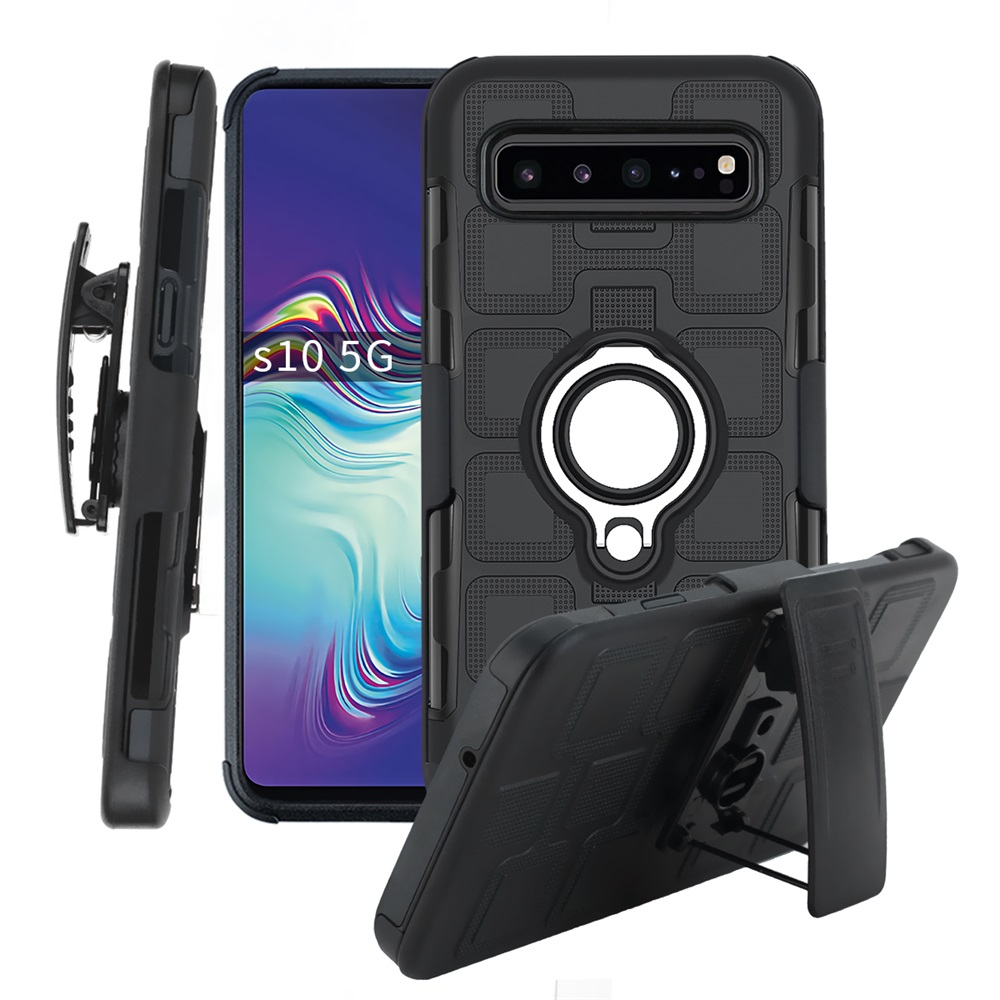 Case With Swivel Belt Clip For Samsung Galaxy S10 Plus S10E S10+ 5G Case For Samsung S10 5G S10e S10plus S10 + Magnetic Cover