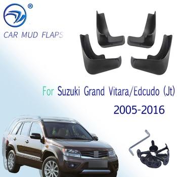 Брызговики для Suzuki Grand Vitara / Edcudo (JT) 2005-2016, 4 шт./компл.