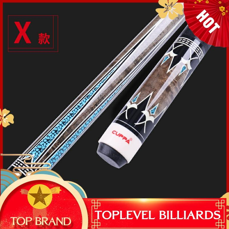 CUPPA Korea 3 Cushion Cue Carom Billiard Stick Kit Cues 11.75 Mm 12.75mm Tip 147cm With Case Combination Offer Set China 2019