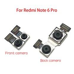 Tylny moduł tylnej kamery Flex Cable + wymiana kamery z przodem do świata dla Xiaomi Redmi Note 6 Pro