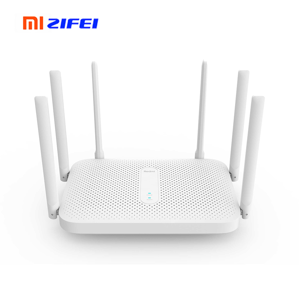 Original Redmi Router AC2100 2033Mbps Wireless Router 2.4G & 5G Dual-band Concurrent 6 High-gain Omnidirectional Antennas