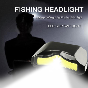 XPE+COB Hands-free LED Headlamp Motion Sensor Head Lamp LED Headlight Torch Built-in Battery Inductive With Portable Box image