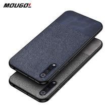 For Xiaomi MI CC 9 Case Shockproof Cloth Fabric Silicone Soft Edge Case  For Xiaomi 9 9T CC 9E A3 Lite Redmi K20 Note 7 Pro Case for xiaomi mi 9 mi 9 se case fabric cloth card slot slim hard pc case for xiaomi mi 9t mi 9 pro lite redmi note 7 7a mi a3 case