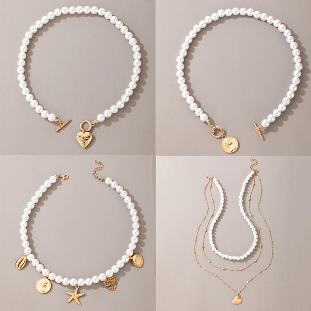 pearl and pendant necklace 1