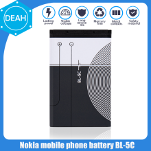 Phone-Battery Polymer Bl 5c 2700 3100 1280 2600 Nokia 1100 5130 6230 1200 1600 for 1110/1200/1208/..