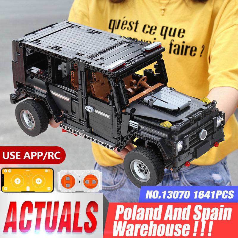 Yeshin 20100 تكنيك موتور سيارة سلسلة متوافق مع MOC 2425 G500 AWD عربة مجموعة اللبنات الطوب الاطفال RC موتور سيارات لعبة-في حواجز من الألعاب والهوايات على  مجموعة 1