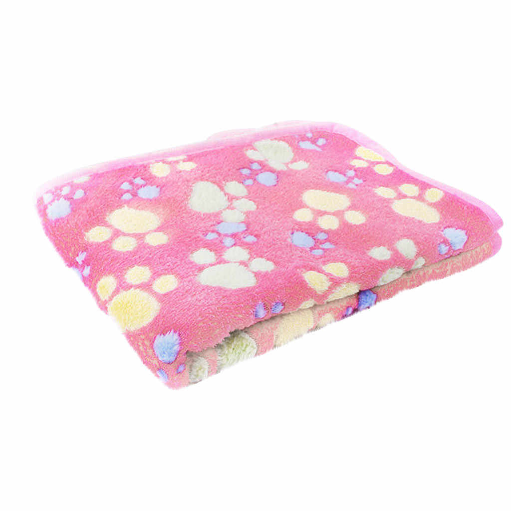 חיות מחמד חתול Paw טופר כלב מגבת שטיח מחצלת מיטת חורף חם חתול כלב גור שמיכת מגבת שמיכת שינה כיסוי מגבת כרית # jin
