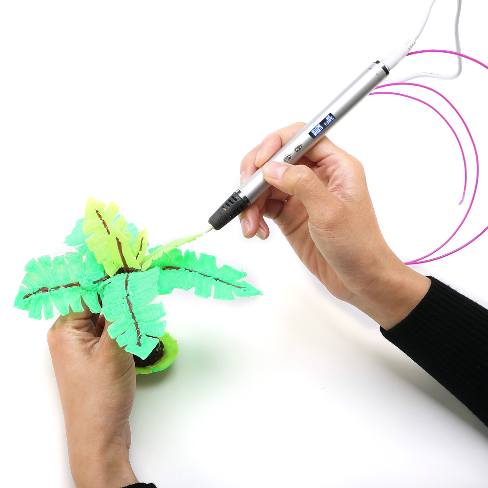 3D Pen With OLED Display And Metal Case for Kids Birthday Gift