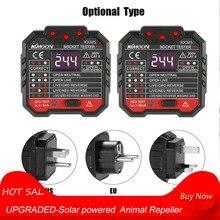 KKmoon KKM5 цифровой дисплей Розетка детектор разъем питания проводка обнаружения настенный выключатель Finder RCD тестовая розетка тестер er
